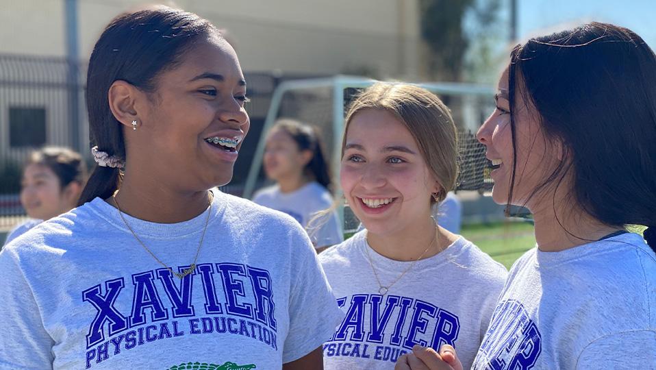 Xavier Students